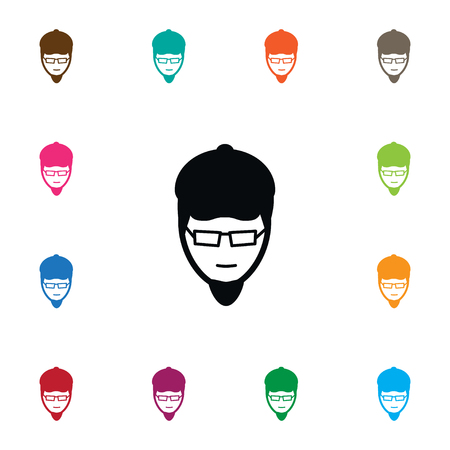 Isolated Artist Icon. Painter Vector Element Can Be Used For Painter, Artist, Person Design Concept. Illustration