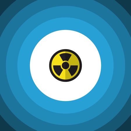 irradiation: Element can be used for irradiation, radiation, dangerous design concept. Illustration