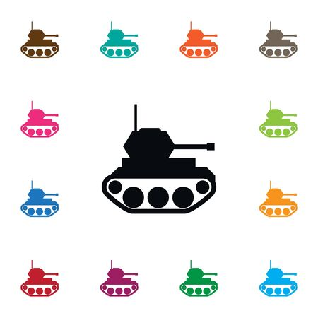 Isolated Military Icon. Battle Vector Element Can Be Used For Military, Tank, Battle Design Concept.