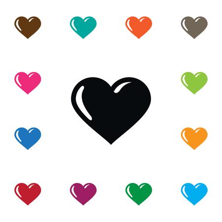 孤独な魂のアイコン。魂、心、愛のデザイン コンセプトの心ベクトルの要素を使用できます。