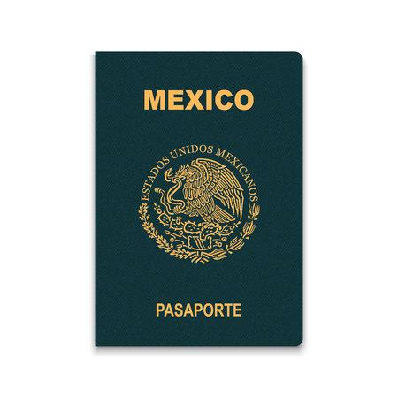 Passport of Mexico. Vector illustration Stock Illustratie
