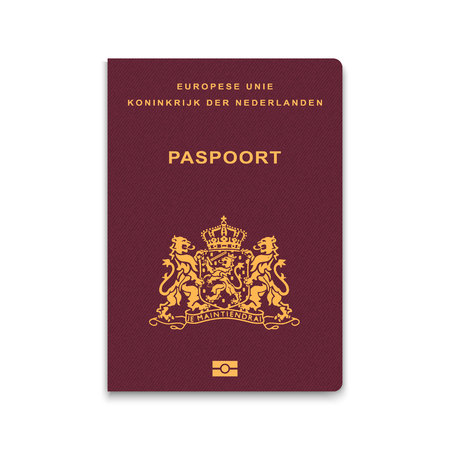 Passport of Netherlands. Vector illustration 版權商用圖片 - 97221737