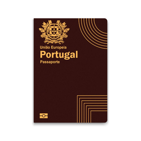Passport of Portugal. Vector illustration Иллюстрация