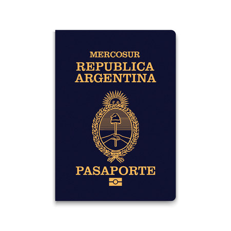 Passport of Argentina. Vector illustration