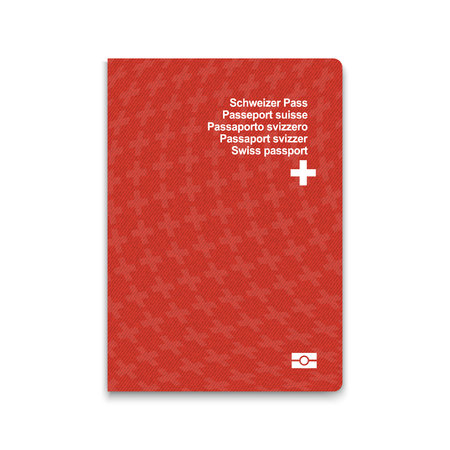 Passport of Switzerland. Vector illustration Illustration
