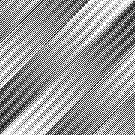 Vector geometric pattern with halftone lines Ilustração