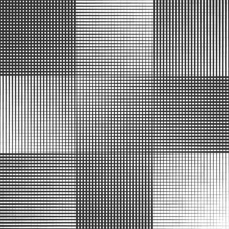 Vector geometric pattern with halftone lines Illustration