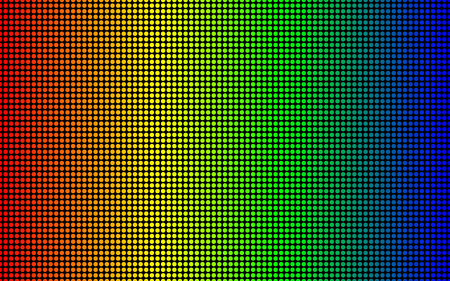 Led screen texture. diode screen seamless pattern Illustration