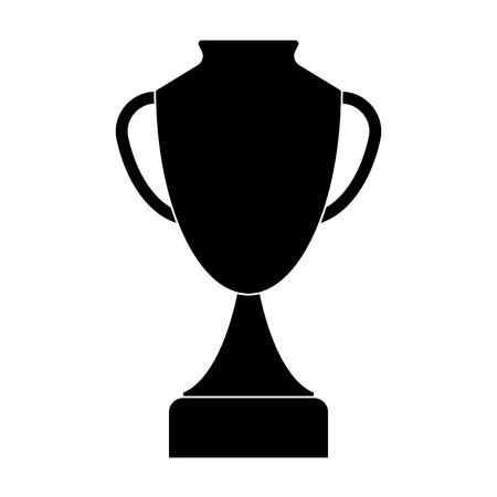 Trophy cup icon. Vector illustration