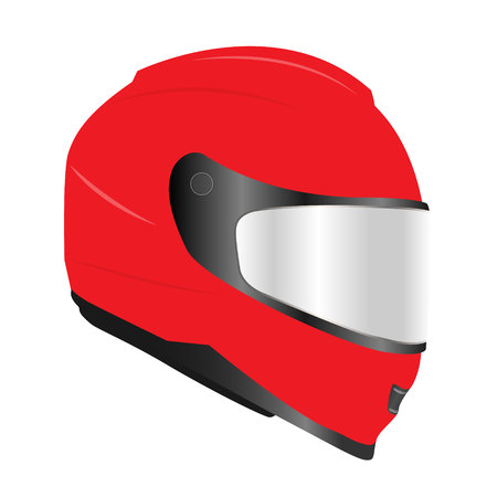 3d realistic motor racing helmets with glass visor