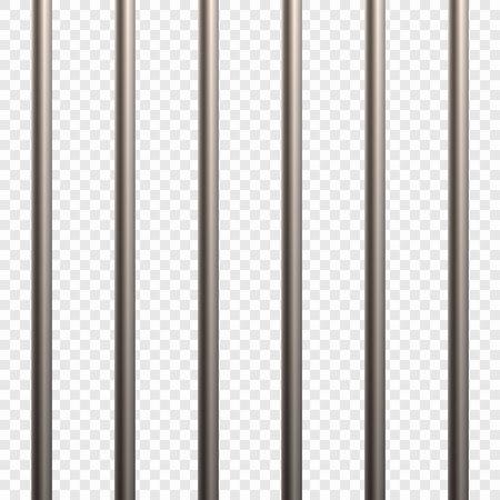 Prison Cell Bars Ilustração