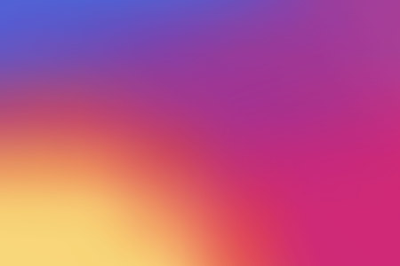 Colorful smooth gradient color Background design for your project design.  Illustration