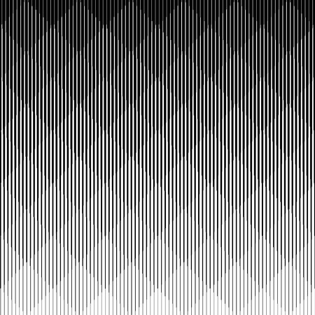 Line halftone pattern with gradient effect.