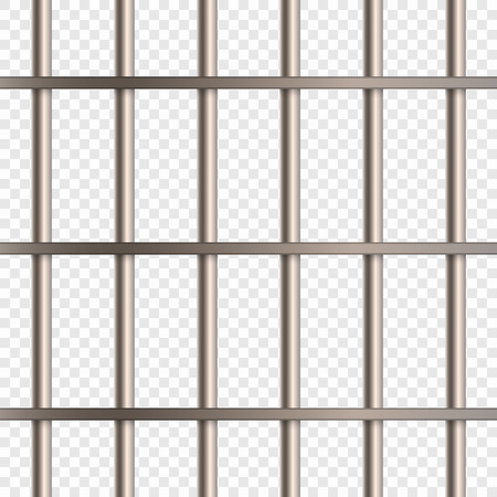 Prison Cell Bars Иллюстрация