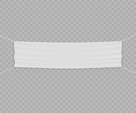 Template vector banner, invite for ribbon cutting ceremony