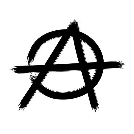 Anarchy Symbol Vector Sign Royalty Free Cliparts Vectors And