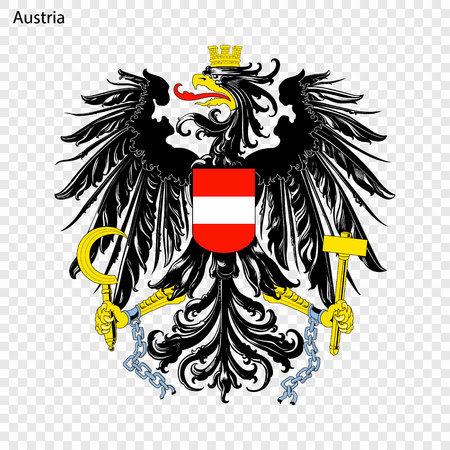 Symbol of Austria. National emblem