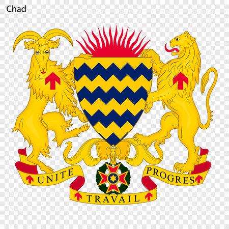 Symbol of Chad. National emblem