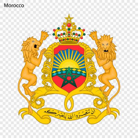 Symbol of Morocco. National emblem