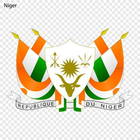 Symbol of Niger. National emblem