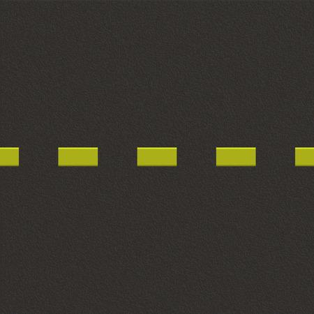Fond de route avec texture asphalte. Illustration vectorielle