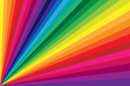 Fondo de torsión de rayas de color arco iris
