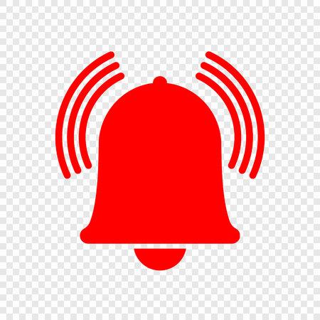 Icône de sonnette d'alarme. Illustration vectorielle Vecteurs