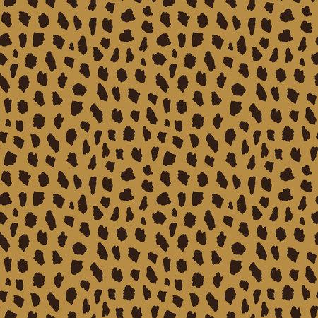 seamless pattern with cheetah skin. Animal print Reklamní fotografie - 110484464