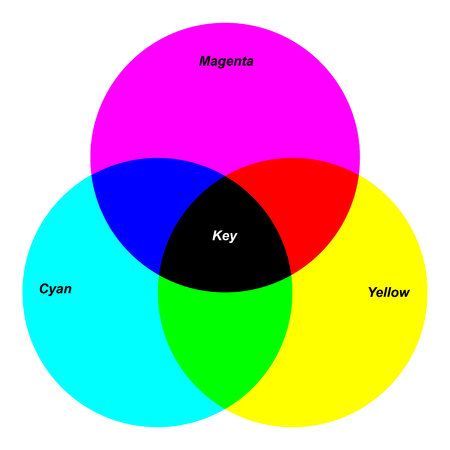 Color wheel, Vector template for design
