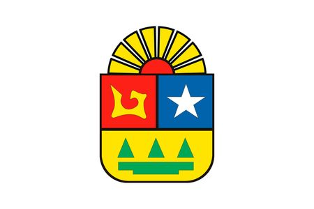 Simple flag state of Mexico, Quintana Roo