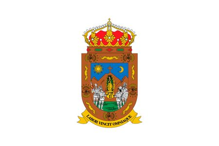 Simple flag state of Mexico, Zacatecas