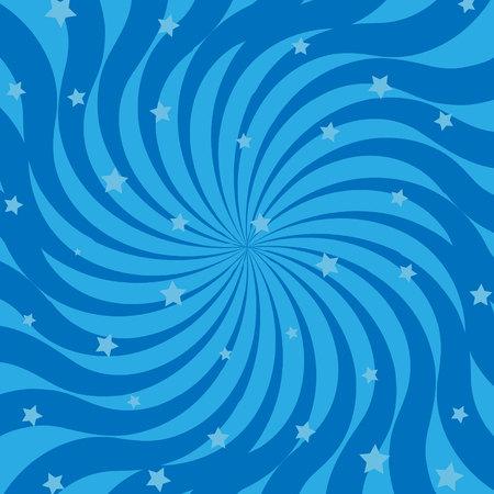 Geometric swirl background - vector graphic