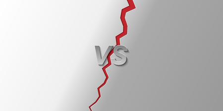 Versus Screen Background, illustration for design