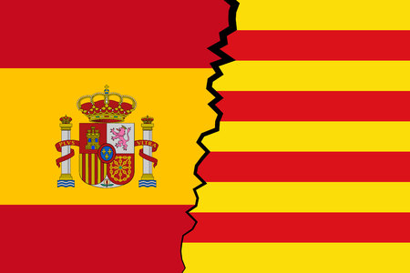Catalonia vs Spain - independence and sovereignty of Catalan nation.