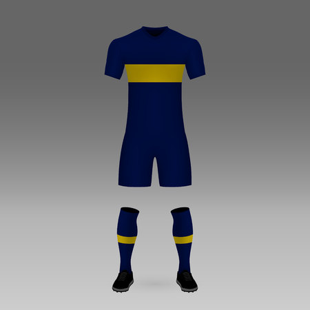 timeless design c983e 0ed61 Football Kit Boca Juniors, Shirt Template For Soccer Jersey ...