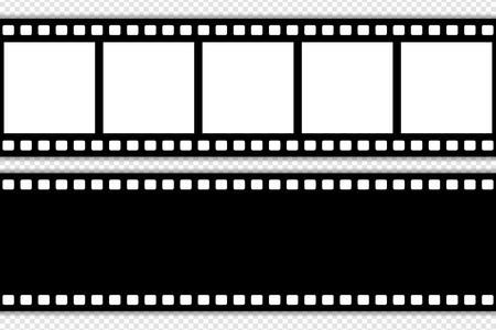 Film strip template vector illustration