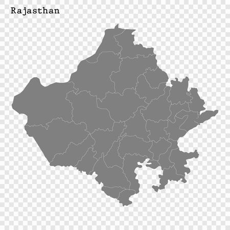 High Quality map of Rajasthan is a state of India, with borders.. on india map with lakes, india map with important cities, india map with capitals, india map with roads, india map with rivers, india map with airports, india map with railroads, india map with mountain ranges,