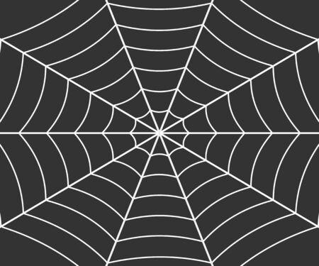 Spider web illustration, Vector cobweb . Template for your design
