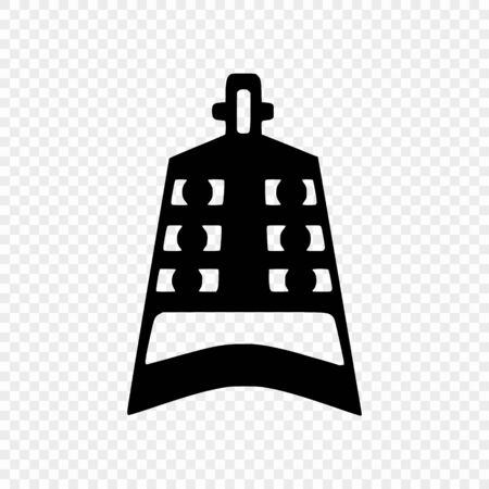 Confucian wooden clapper bell. Symbol of Confucianism. Vector illustration
