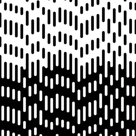Abstract geometric black and white hipster fashion pillow halftone pattern