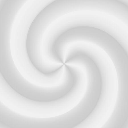 Vector yogurt or milk swirl background, white cosmetics cream product whirlpool Illustration