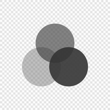 RGB palette icon isolated on transparent background