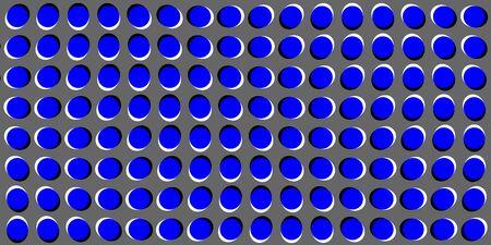 Anomalous motion illusion dot pattern
