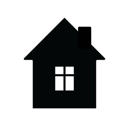 Home vector icon. House Logo