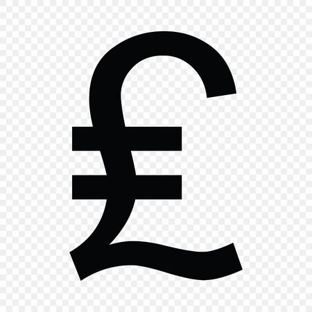 Lira sign. Currency symbol icon
