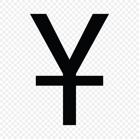 Chinese yuan sign. Currency symbol icon