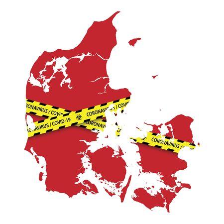 Danger coronavirus Banner