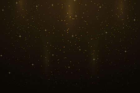 Night sky background with stars