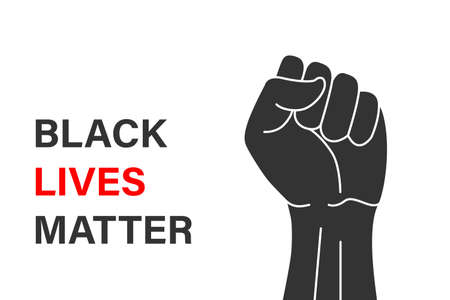 Black lives matter banner design Template for your design