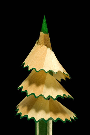 darkly: It is symbolical the staff  new year, a fur-tree from a pencil